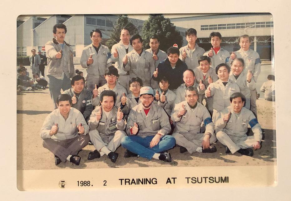 Tsutsumi Training.jpg