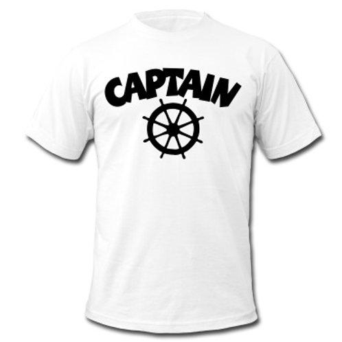 Captain's T-Shirt  100% Cotton