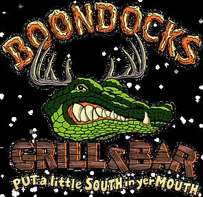 Boondocks Restaurant Lake Asbury Menu