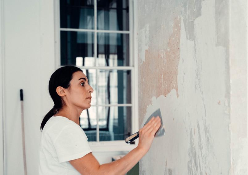 Ouvrière Pignolo Peinture