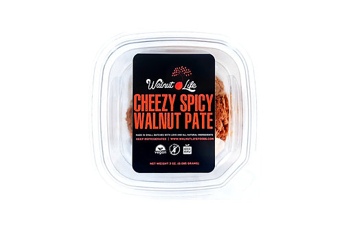 Cheezy Spicy Walnut Pate