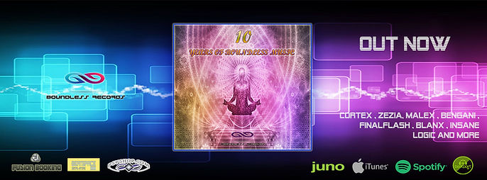 10 years of boundless music out now BANN