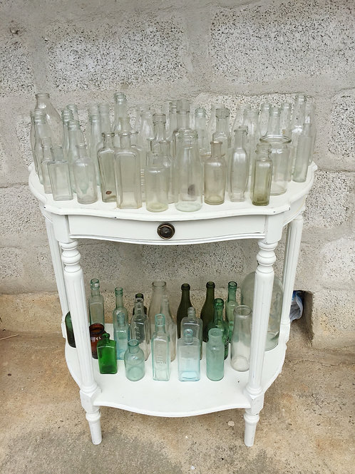 Vintage glass bottle hire