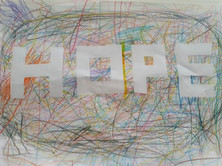 A SCRIBBLE OF HOPE
