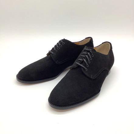 菖蒲のスエード素材のオーダー靴
