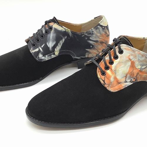 エゾシカ革の紳士靴