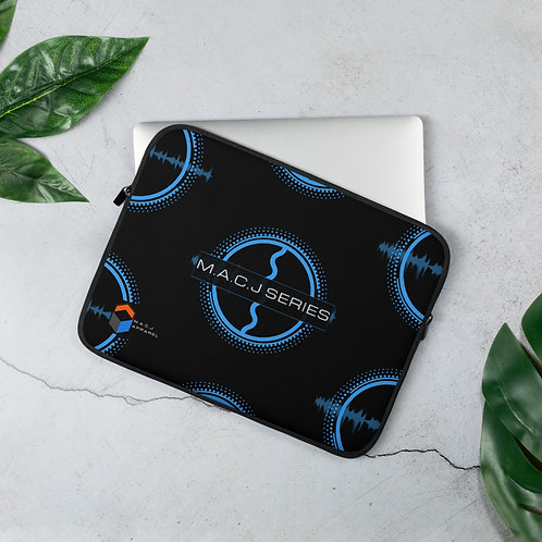 M.A.C.J Series Black Laptop Sleeve