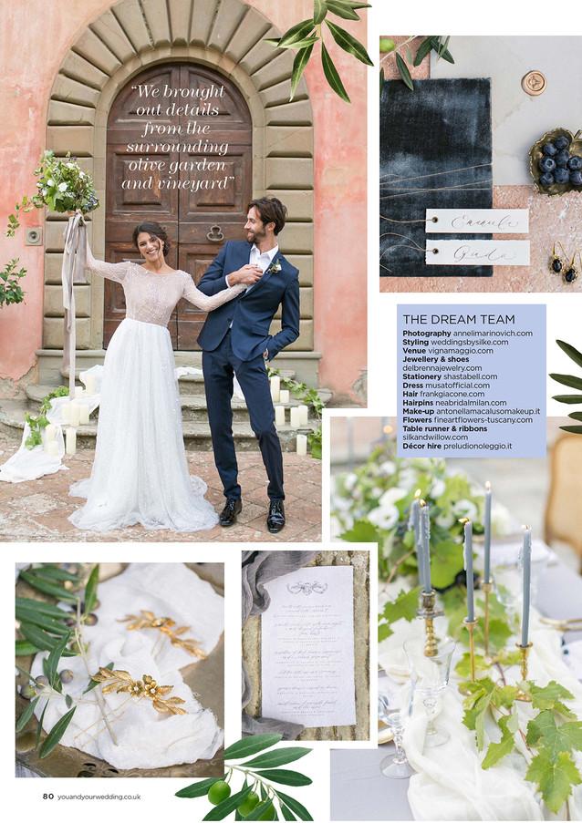 Tuscan wedding by Anneli Marinovich