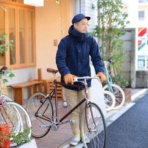 冬なので、自転車通勤はじめました