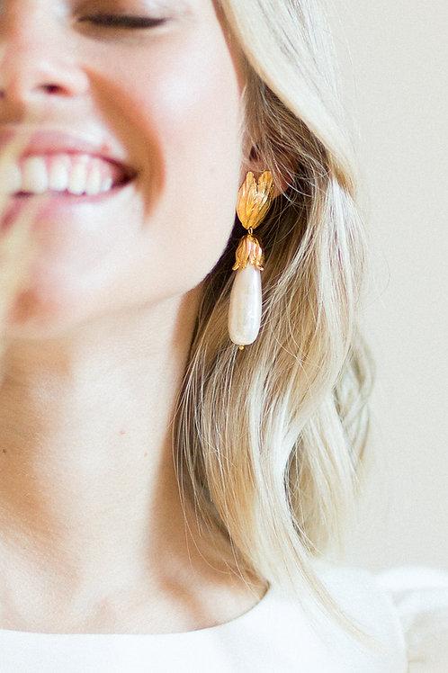 Florence Pearl Drop Earrings