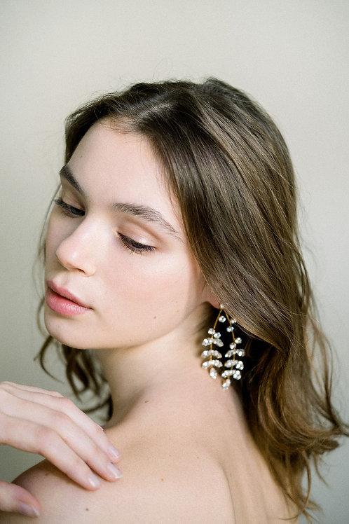 Twigs Chandelier Earrings