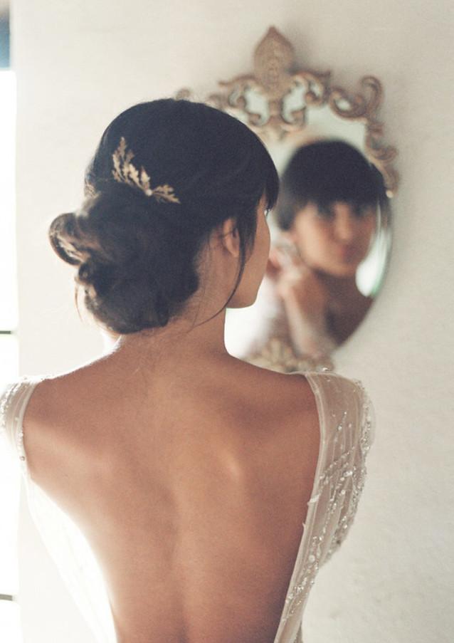 Oak bridal editorial by Lilly Kad