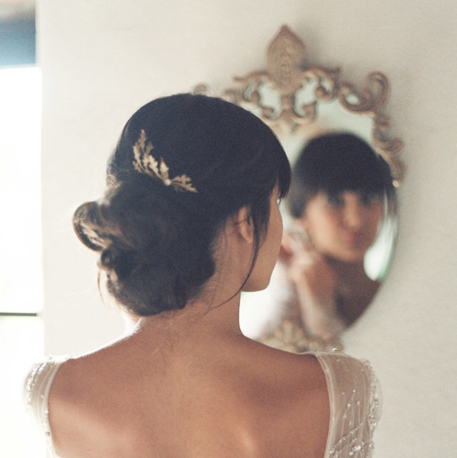 Oak bridal editorial by Lilly Kad