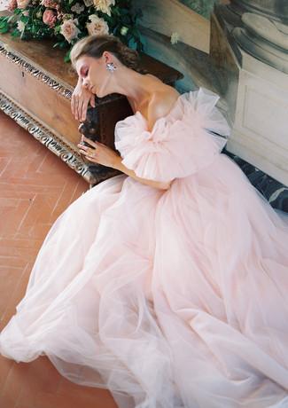 Bridal Editorial at Villa Medicea