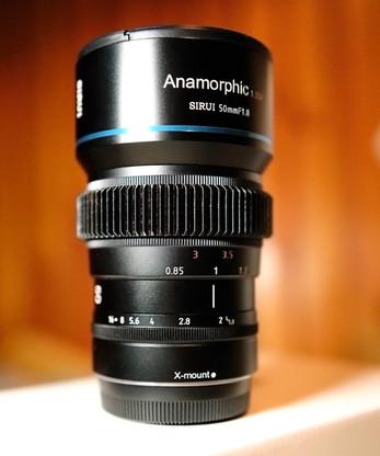 SIRUI 50mm F1.8 ANAMORPHIC 1.33x