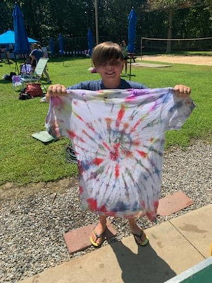 Craft by the Pool: Tie-Dye Shirt 07.21.21