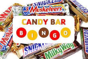 Candy Bar Bingo & Baskets 08.19.21