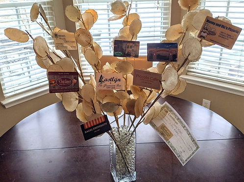 Eat Local Gift Card Tree