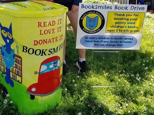 Book Smiles Donation Drive 06.29.21