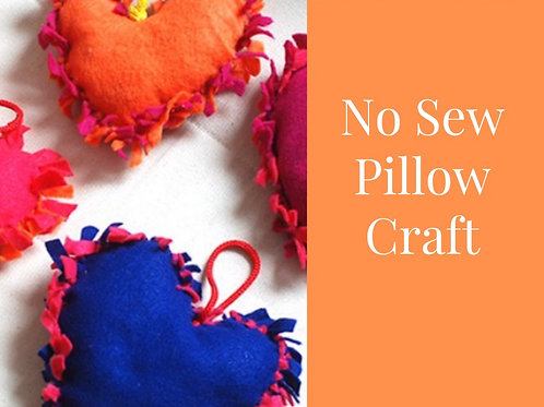 Craft by the Pool: No Sew Pillows 07.07.21