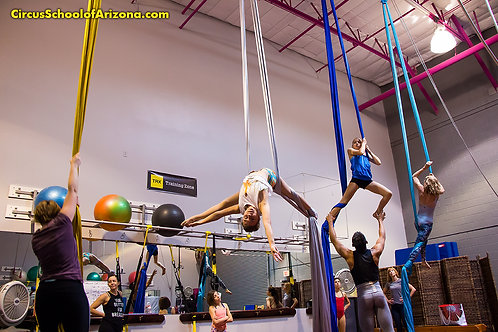 10-Pack of 90-Min Aerial Classes