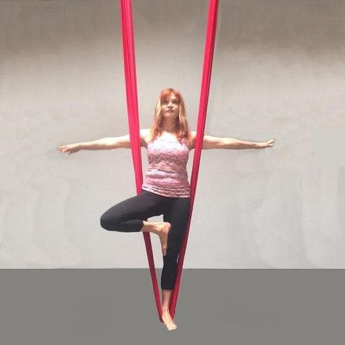 5-Pack of 1-Hour Aerial Asana Yoga Classes