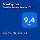 Apartments Terra I & II Booking.com award Rijeka apartments
