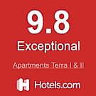 Apartments Terra I&II Hotels.com award