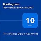 Terra Magica Deluxe Booking.com award apartments Rijeka