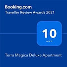Terra Magica Deluxe Booking.com award