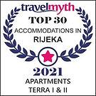 Apartments Terra I&II Travelmyth award Top 30 apartments Rijeka