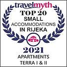 Apartments Terra I&II Travelmyth award Top 20 apartments Rijeka