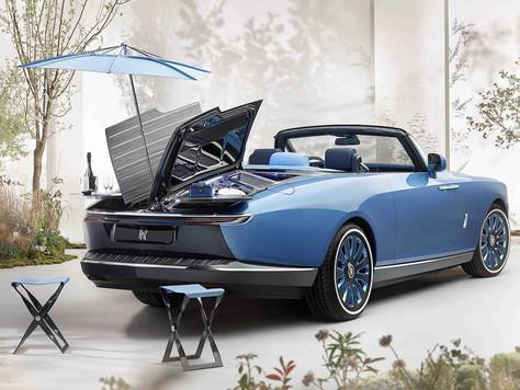 Dünyanın En Pahalı Arabası: Rolls Royce Boat Tail