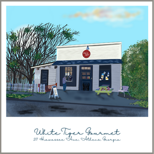 White Tiger is an adorable restaurant in a quaint neighborhood in the Normaltown area.