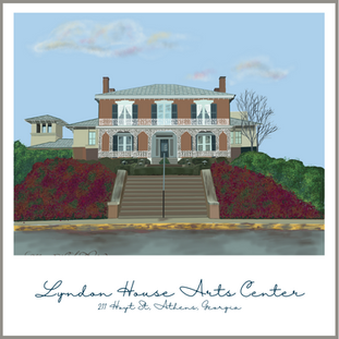 Arts in Athens is supported and encouraged by the Lyndon House.