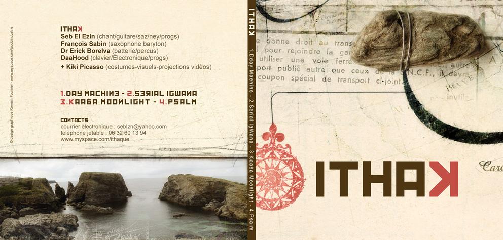 pochette cd itak