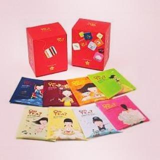 🍃🌸 Or Tea_ 🌸🍃 Combo pak, 8 flavours! Vanaf volgende week te verkrijgen. 7,50€