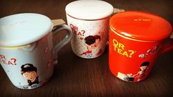 🌟😍Totally my C.U.P. of T.E.A 🌟😍 Nieuw binnen, Or Tea_ ceramic mugs met infuser ! ☕ 3 variaties☕