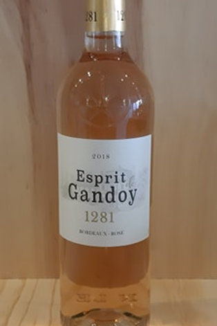 Château Ganday Perrinat rosé 2018