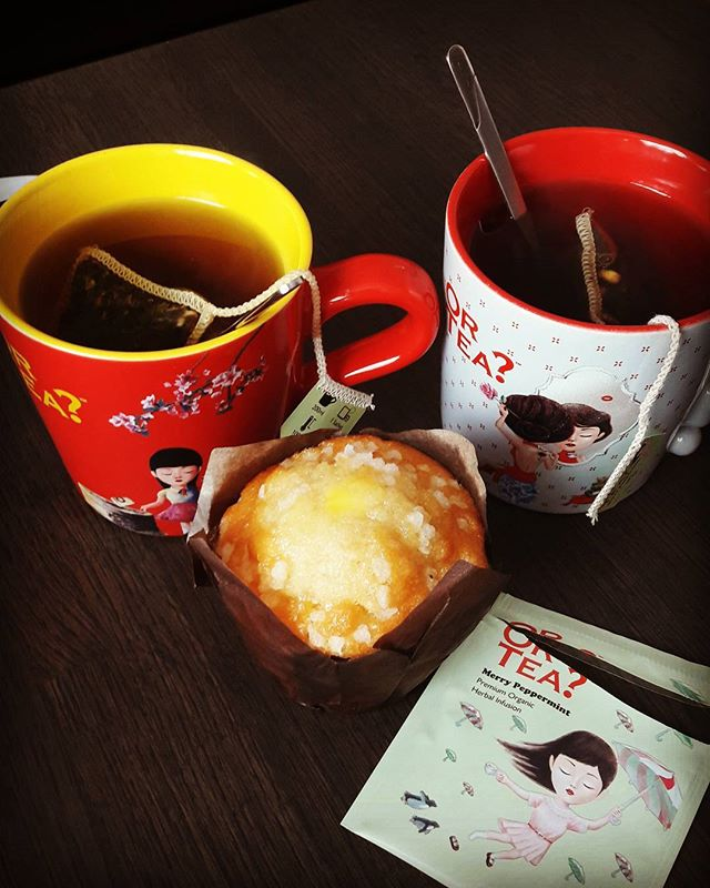 ☕🦄Tea and muffin time☕🦄 #takeabreak #relaxingtime #girlfriends #thoseareafewofmyfavoritethings #in
