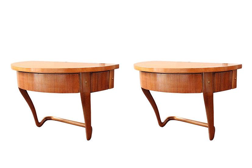 BEDSIDE TABLES 1950