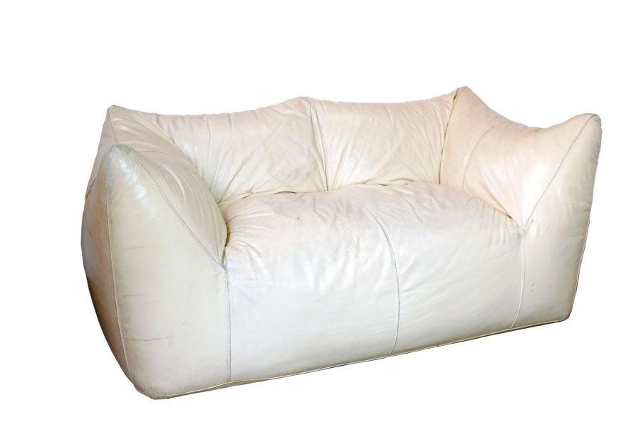 Wondrous Mario Bellini Sofa Le Bambole In White Leather Lamps60Com Pdpeps Interior Chair Design Pdpepsorg