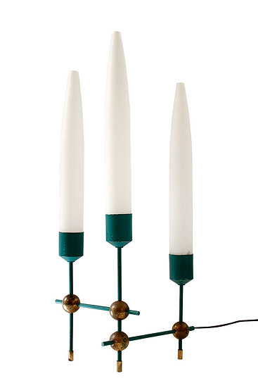 ATOMIC TABLE LAMP AT THE MANNER OF ARREDOLUCE