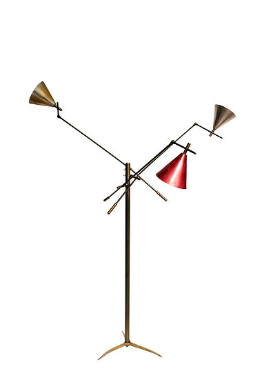 1950 ARTICULATED FLOOR LAMP