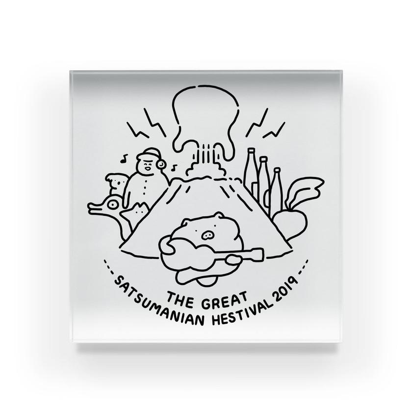 音楽フェス サツマニアン グッズ企画参加