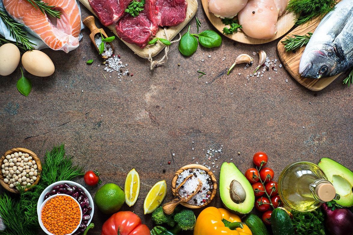 Balanced diet foods