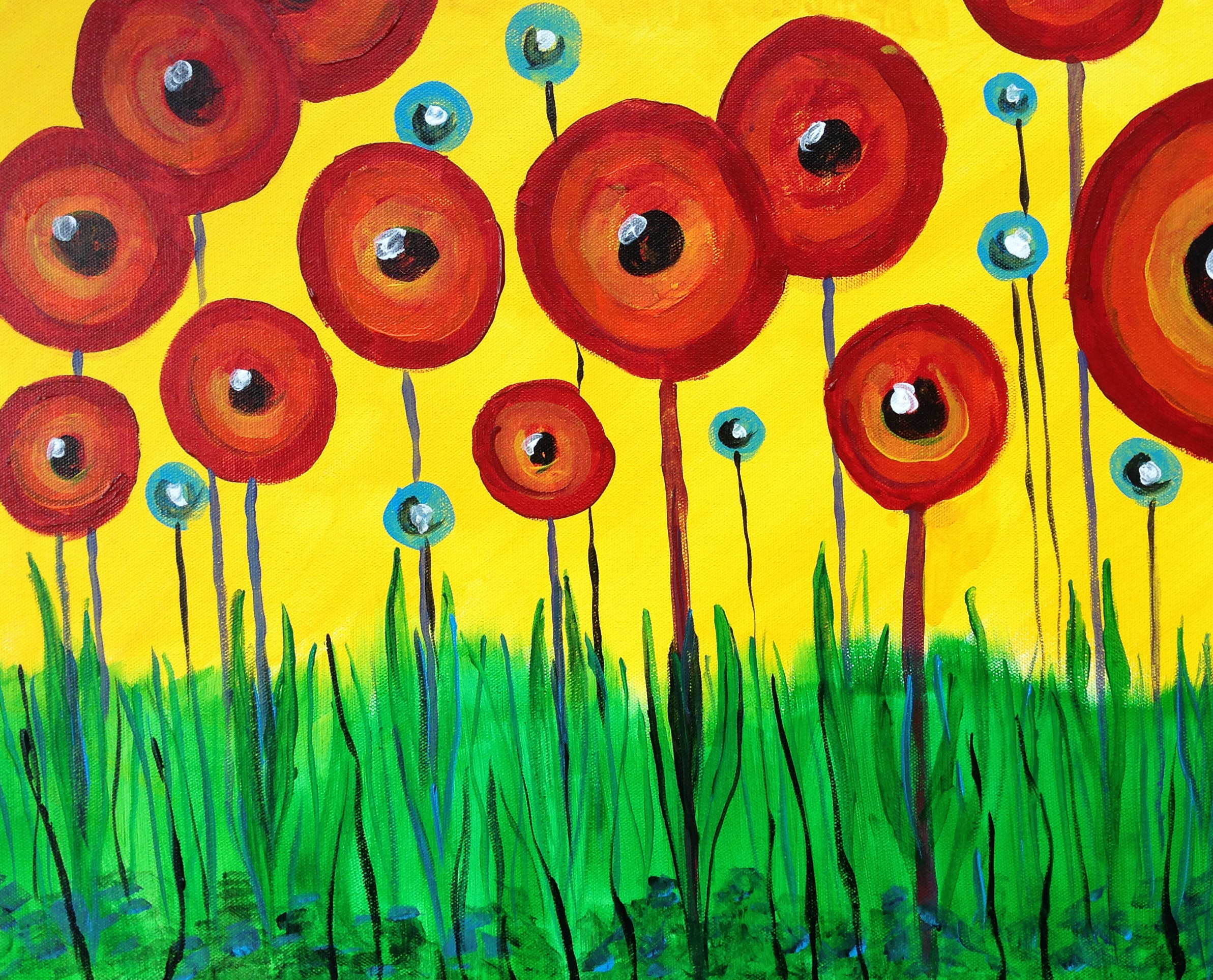 Pop-up Poppies