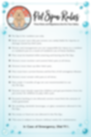 Pet Spa Rules Sign 24inx36in.png
