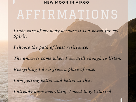5 Tips to Harness The Energy of The New Moon in Virgo | September 2021