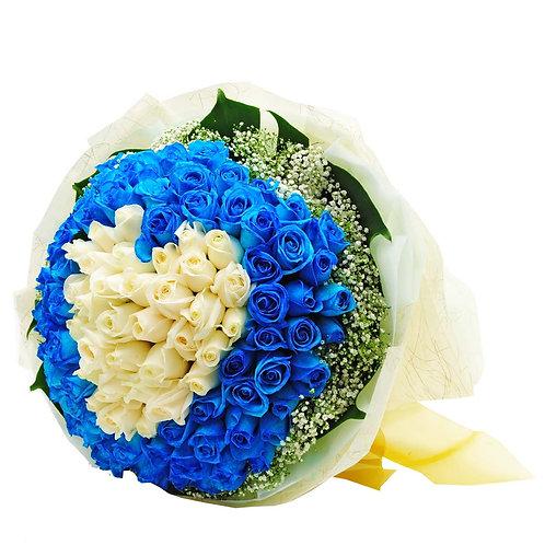 Pure Blue Heart